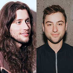 Side by side images of Ludwig Goransson and Justin Lubliner