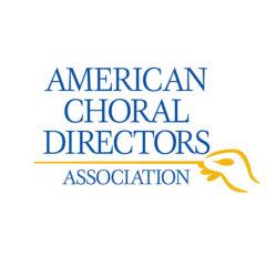 "Logo reading ""American Choral Directors Association"""