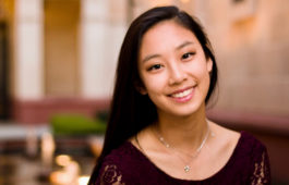 Portrait of Erica Lee smiling